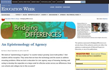 http://blogs.edweek.org/edweek/Bridging-Differences/