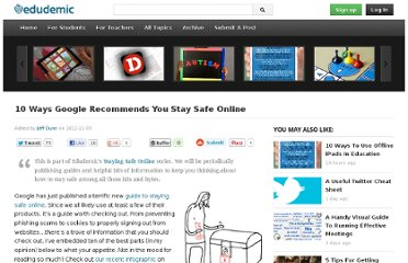 http://edudemic.com/2011/11/google-online-safety/