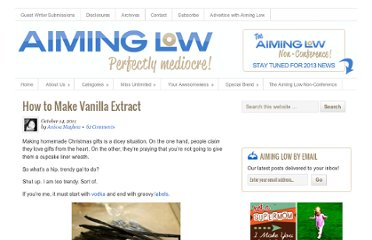 http://aiminglow.com/2011/10/how-make-vanilla-extract/