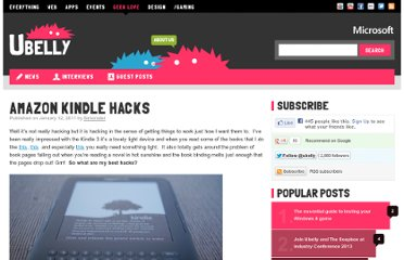 http://www.ubelly.com/2011/01/amazon-kindle-hacks/