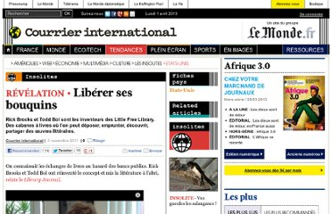 http://www.courrierinternational.com/article/2011/11/03/liberer-ses-bouquins