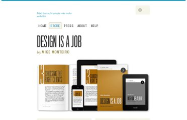 http://www.abookapart.com/products/design-is-a-job