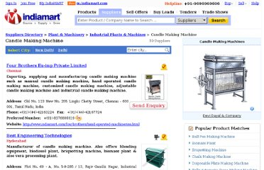 http://dir.indiamart.com/impcat/candle-making-machine.html