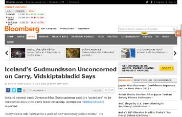 http://www.bloomberg.com/news/2011-10-13/iceland-s-gudmundsson-unconcerned-on-carry-vidskiptabladid-says.html
