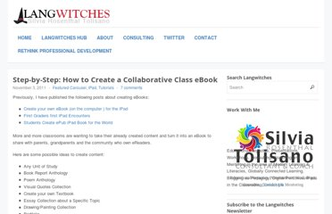 http://langwitches.org/blog/2011/11/03/step-by-step-how-to-create-a-collaborative-class-ebook/