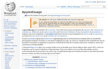 http://fr.wikipedia.org/wiki/Apprentissage#Les_th.C3.A9ories_de_l.27apprentissage