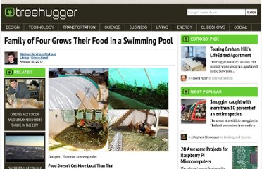 http://www.treehugger.com/green-food/family-of-four-grows-their-food-in-a-swimming-pool.html