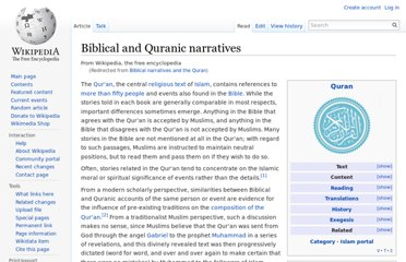 http://en.wikipedia.org/wiki/Biblical_narratives_and_the_Quran