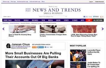 http://www.huffingtonpost.com/2011/11/04/small-businesses-switching-from-big-banks-to-local-banks_n_1070547.html