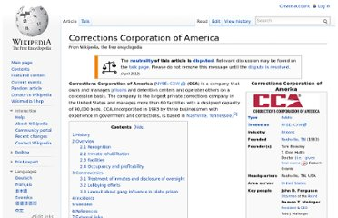 http://en.wikipedia.org/wiki/Corrections_Corporation_of_America