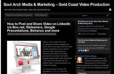 http://soularchmedia.com/blog/tag/how-to-add-video-to-linkedin-company-pages/