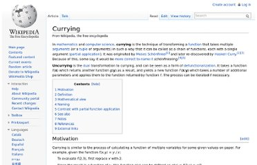 http://en.wikipedia.org/wiki/Currying