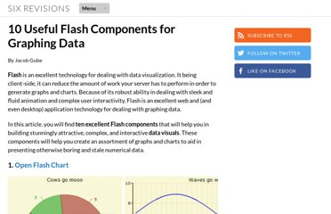 http://sixrevisions.com/flashactionscript/10-useful-flash-components-for-graphing-data/