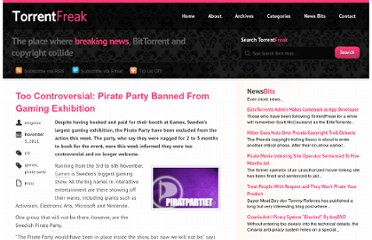http://torrentfreak.com/too-controversial-pirate-party-banned-from-gaming-exhibition-111105/