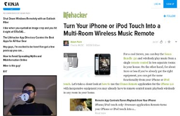 http://lifehacker.com/400235/turn-your-iphone-or-ipod-touch-into-a-multi+room-wireless-music-remote