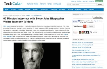 http://www.techcular.com/60-minutes-interview-steve-jobs-biographer-walter-isaacson-video/