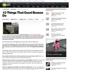 http://www.cbsnews.com/8301-505125_162-28245868/10-things-that-good-bosses-do/
