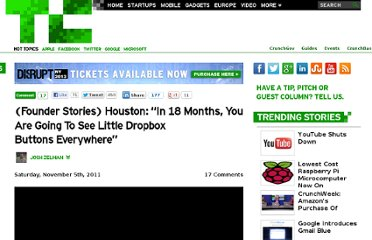 http://techcrunch.com/2011/11/05/founder-stories-houston-dropbox-buttons-everywhere/