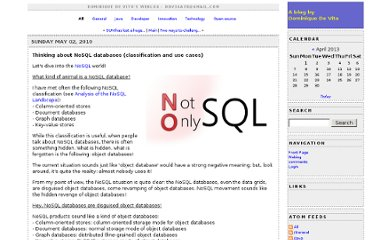 http://www.jroller.com/dmdevito/entry/thinking_about_nosql_databases_classification