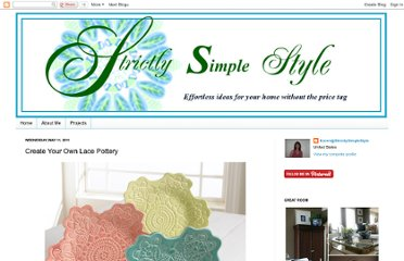 http://strictlysimplestyle.blogspot.com/2011/05/create-your-own-lace-pottery.html