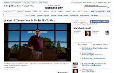 http://www.nytimes.com/2011/11/06/business/reid-hoffman-of-linkedin-has-become-the-go-to-guy-of-tech.html?pagewanted=all