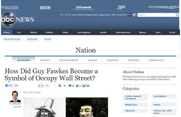 http://abcnews.go.com/blogs/headlines/2011/11/how-did-guy-fawkes-become-a-symbol-of-occupy-wall-street/