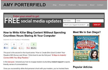 http://www.amyporterfield.com/2011/09/how-to-write-killer-blog-content-without-spending-countless-hours-staring-at-your-computer/
