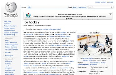 http://en.wikipedia.org/wiki/Ice_hockey