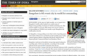 http://articles.timesofindia.indiatimes.com/2011-10-04/bangalore/30242425_1_parking-space-parking-spot-illegal-parking