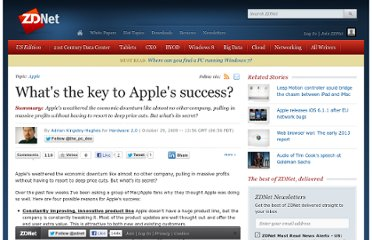 http://www.zdnet.com/blog/hardware/whats-the-key-to-apples-success/6028