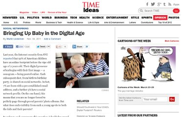 http://ideas.time.com/2011/11/04/bringing-up-baby-in-the-digital-age/
