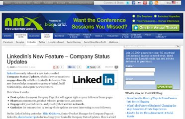 http://www.blogworld.com/2011/11/01/linkedins-new-feature-company-status-updates/
