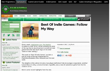 http://www.gamasutra.com/view/news/38257/Best_Of_Indie_Games_Follow_My_Way.php