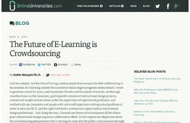 http://www.onlineuniversities.com/blog/2011/11/the-future-of-e-learning-is-crowdsourcing/