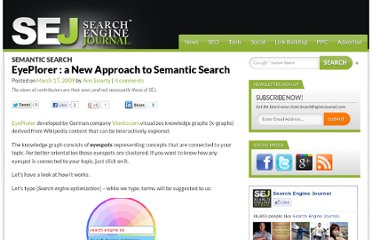 http://www.searchenginejournal.com/eyeplorer-semantic-search/9244/