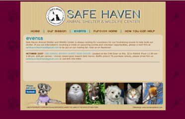 http://www.safehaven4animals.org/Events.html