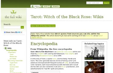 http://www.thefullwiki.org/Tarot:_Witch_of_the_Black_Rose