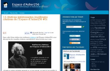 http://blog.asher256.com/14-citations-interessantes-meilleures-citations-de-lespace-dasher256-5/