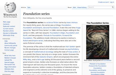 http://en.wikipedia.org/wiki/Foundation_series