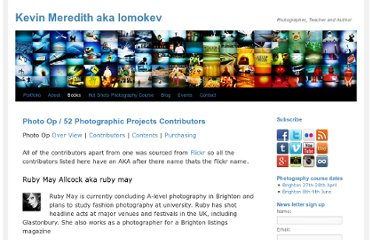 http://lomokev.com/books/photo-op-52-photographic-projects/contributors/