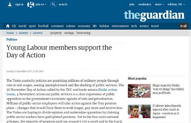 http://www.guardian.co.uk/politics/2011/nov/06/strike-day-of-action-labour