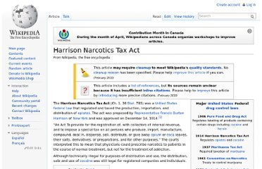 http://en.wikipedia.org/wiki/Harrison_Narcotics_Tax_Act
