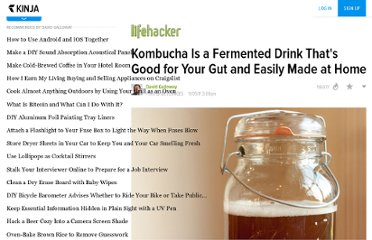 http://lifehacker.com/5856755/kombucha-is-a-fermented-mildly+alcoholic-beverage-based-on-sweetened-tea