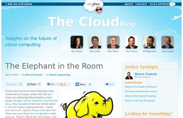 http://cloudblog.salesforce.com/2011/11/the-elephant-in-the-room.html