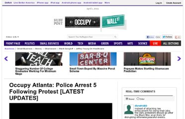 http://www.huffingtonpost.com/2011/11/07/occupy-atlanta-protests-arrests_n_1079233.html