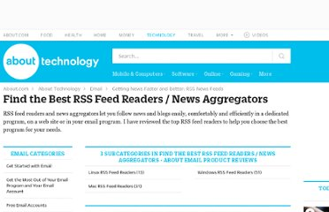 http://email.about.com/od/rssfeedreaders/Find_the_Best_RSS_Feed_Readers_News_Aggregators.htm