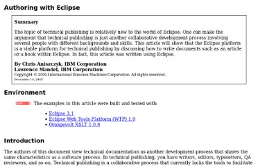 http://www.eclipse.org/articles/Article-Authoring-With-Eclipse/AuthoringWithEclipse.html#vex
