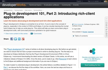 http://www.ibm.com/developerworks/opensource/library/os-eclipse-plugindev2/