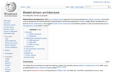 http://en.wikipedia.org/wiki/Model-driven_architecture