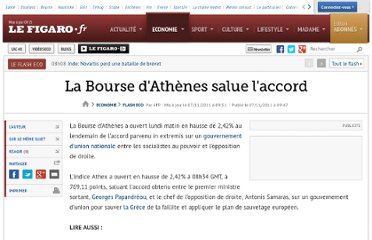 http://www.lefigaro.fr/flash-eco/2011/11/07/97002-20111107FILWWW00399-la-bourse-d-athenes-salue-l-accord.php
